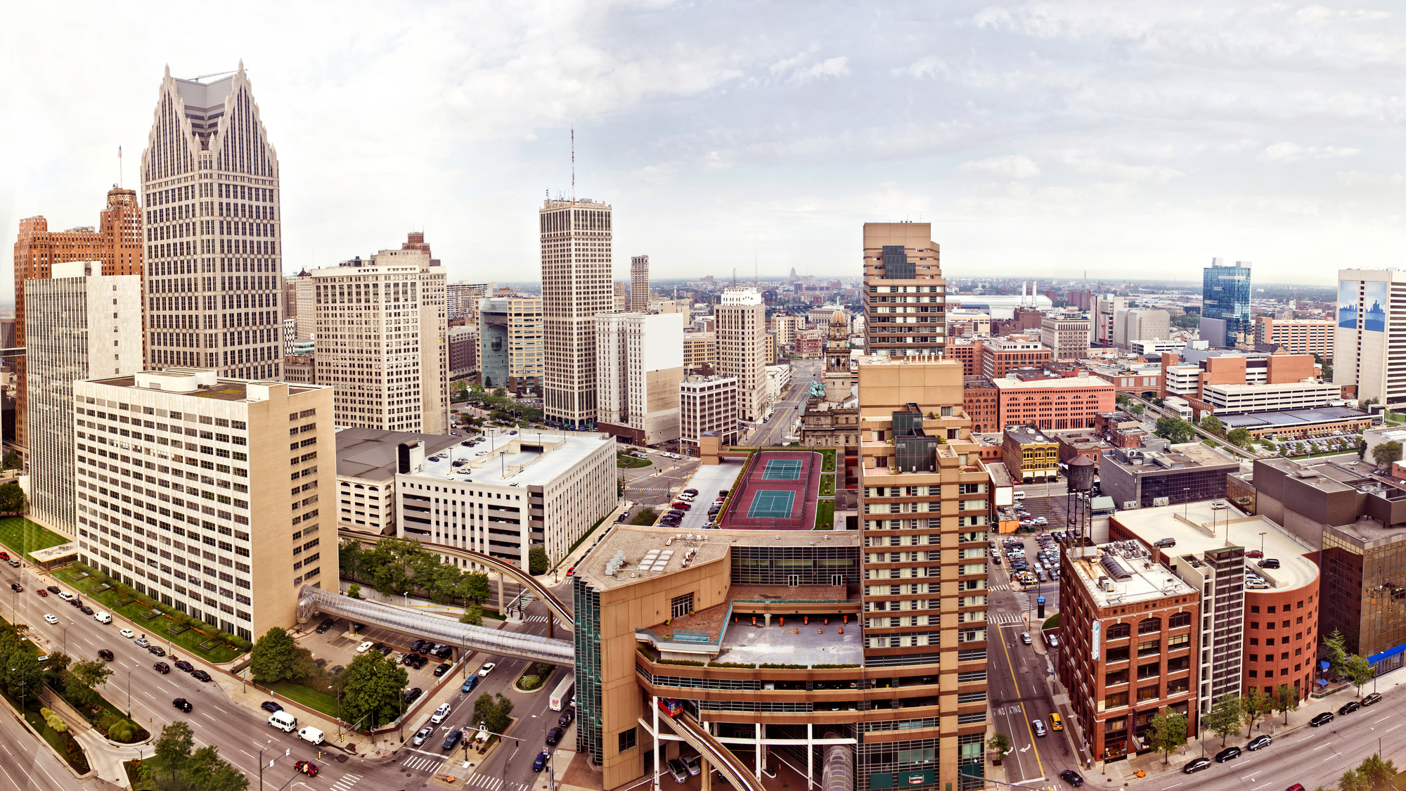 Downtown Detroit-1