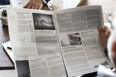 newspaper-grey-black-images